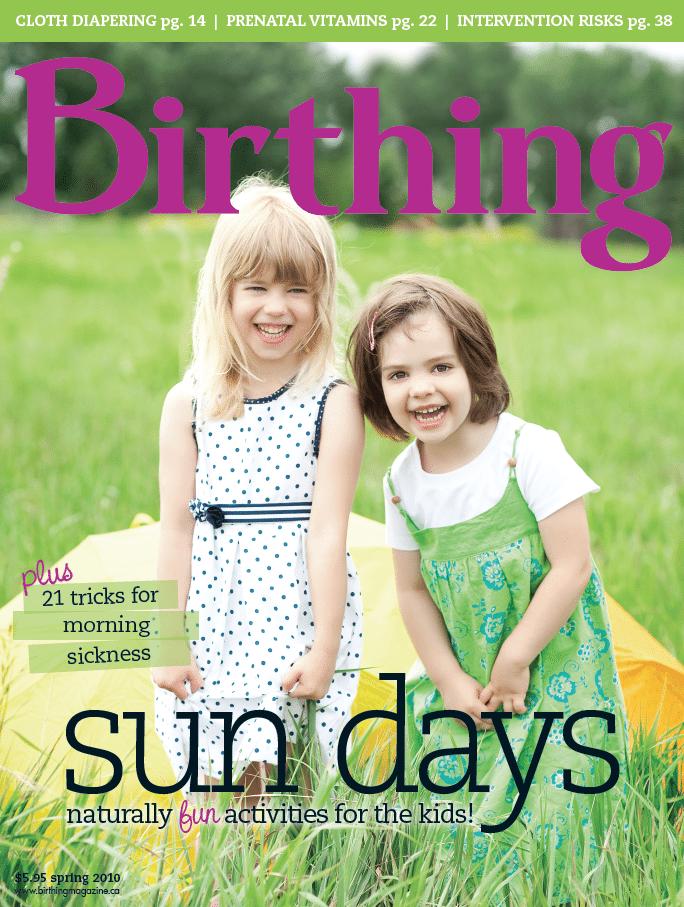 Birthing Magazine 2010 Spring Issue