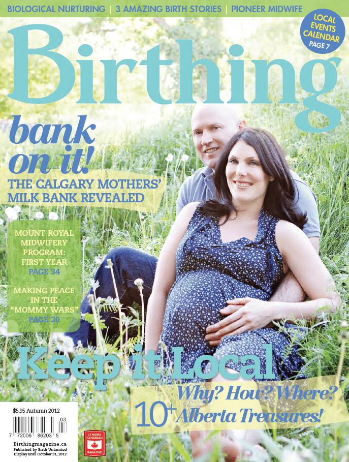Birthing Magazine 2012 Fall Issue