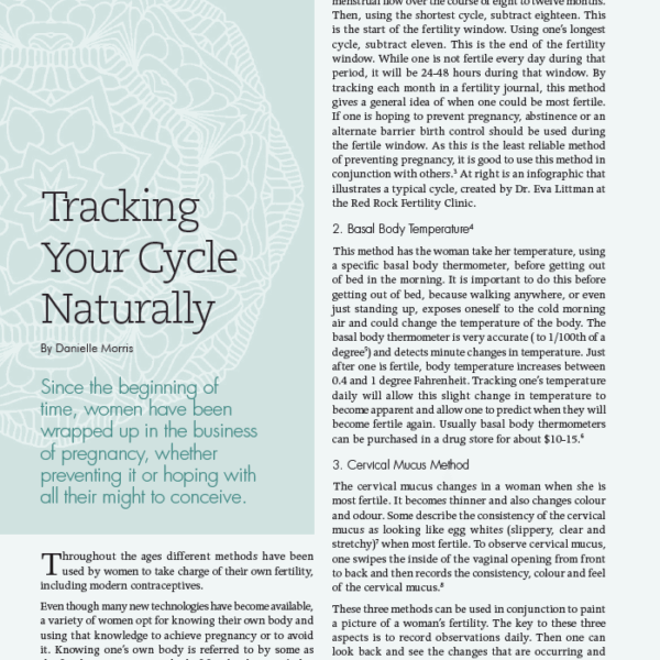 Birthing Magazine 2017 Winter Track Your Cycle Naturally