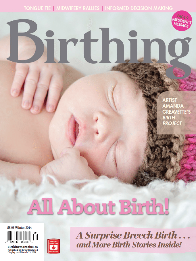 Birthing Magazine Winter 2013 Issue