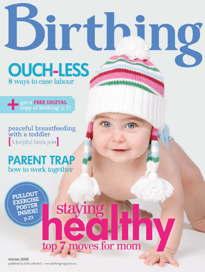 Birthing Magazine 2009 Winter Issue