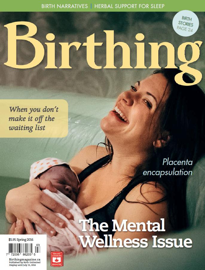 Birthing Magazine 2016 Spring Issue