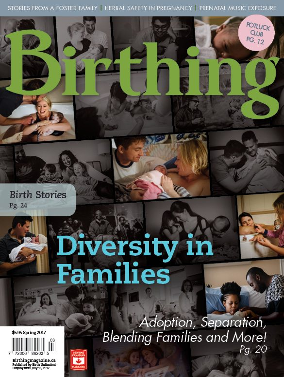 Birthing Magazine Cover - 2017 Spring