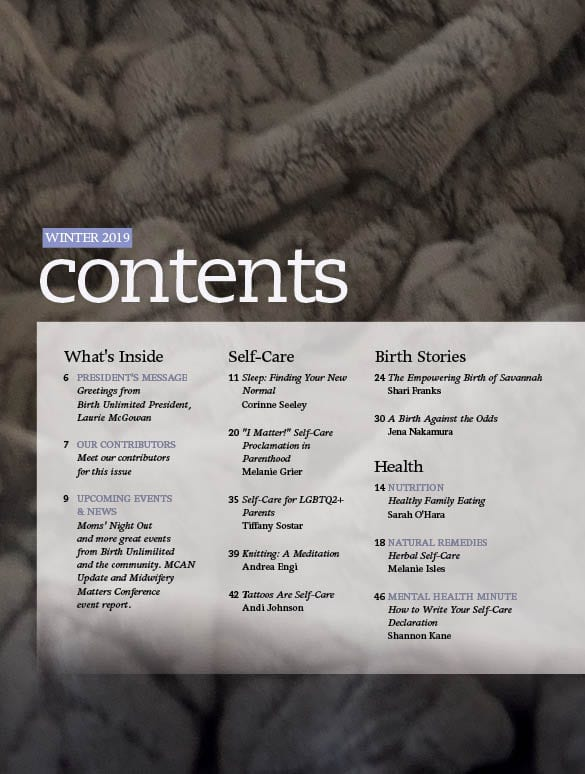 Issue Table of Contents