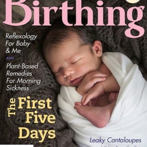 Cover of Birthing Magazine for Summer 2019
