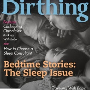 Cover of Birthing for Winter 2020 - The Sleep Issue