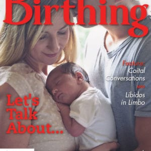 Cover of Birthing, Spring 2020
