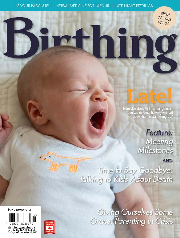 Cover of Birthing - Summer 2020